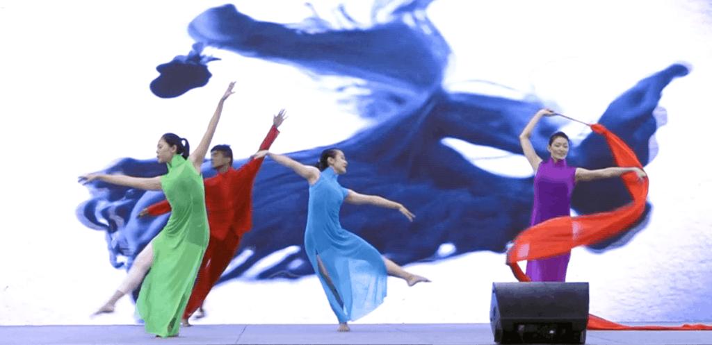 Multimedia Choreographed Dance